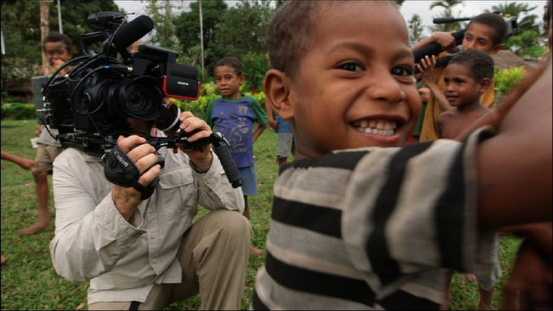 Filming in PNG