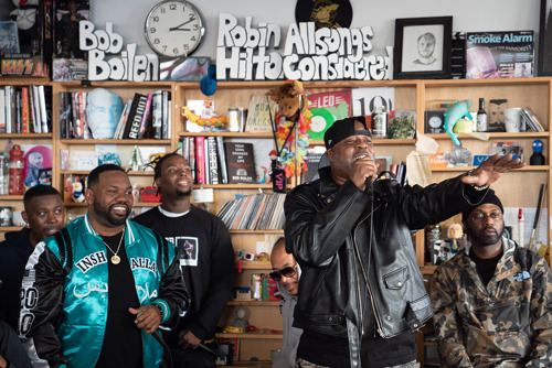 Preview: The Wu-Tang Clan Deliver Epic Tiny Desk Concert on NPR