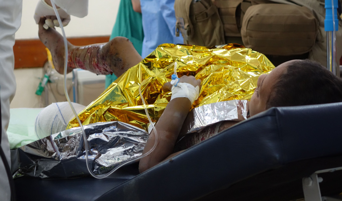 Unzählige Opfer der Kämpfe im Irak: MSF versorgt Männer, Frauen und Kinder in West-Mossul