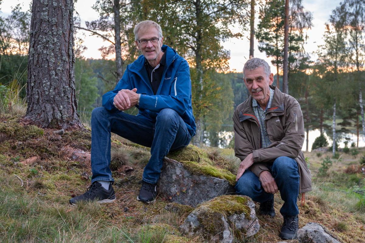 Bröderna Pär och Jan Leander kommer att tjänstgöra som volontärer ombord på Global Mercy.  Foto: Marie Leander