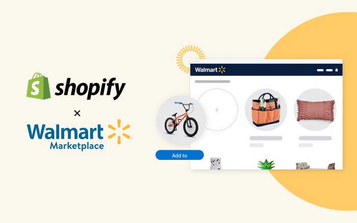 Shopify becomes Walmart's first-ever commerce platform partner, helping businesses reach shoppers and grow sales