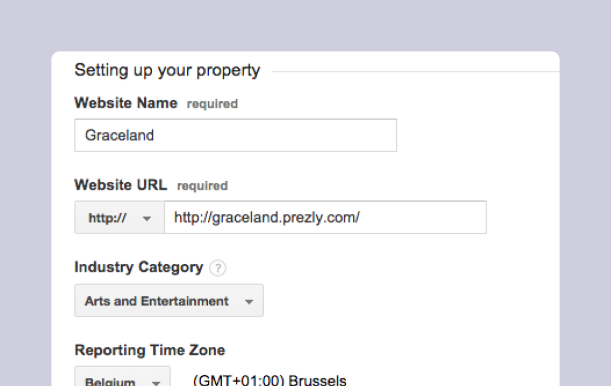 Help: Setting up Google Analytics tracking for your Newsroom