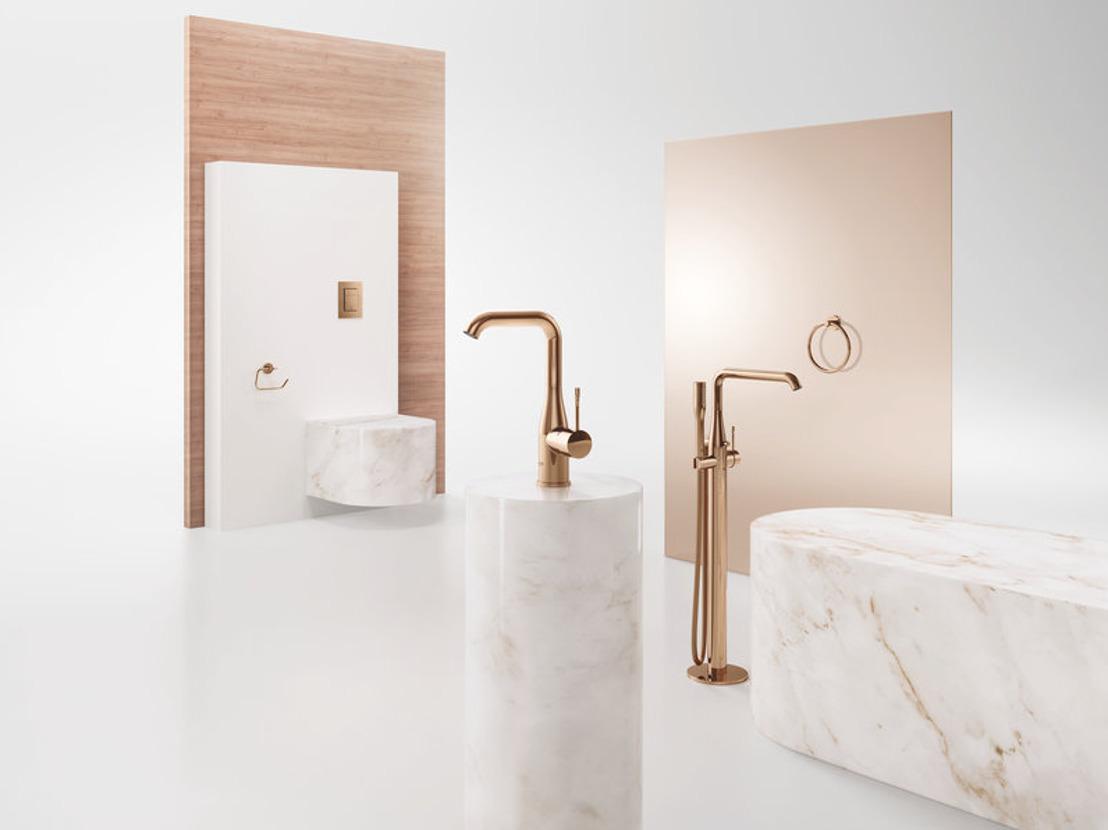 Découvrez une collection de salle de bains personnalisée grâce à la gamme Colors de GROHE