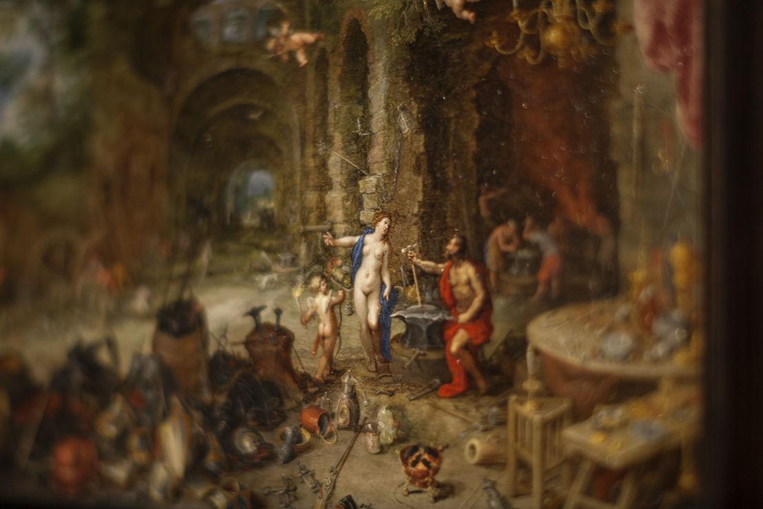 Jan Breughel I, Allegorie van het vuur Langdurig bruikleen, particuliere verzameling Frankrijk, foto Ans Brys