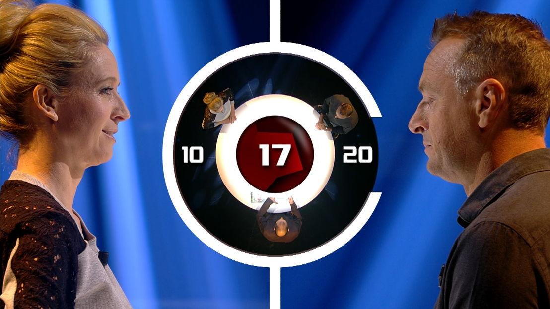 De voorronde: de twee bekende captains beslechten een duel (c) VRT