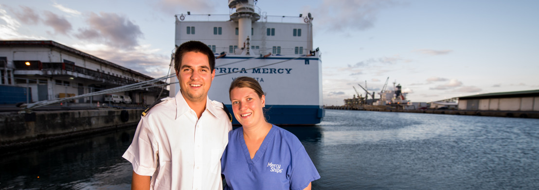 Als Familie im Einsatz auf einem Hospitalschiff