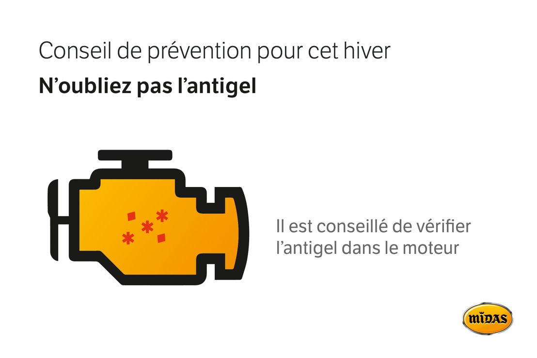 Conseil anti-gel