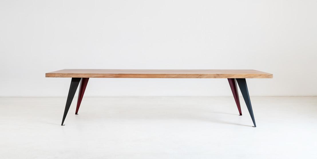 Trois frères gantois lancent des tables uniques, fabriquées à partir de troncs d'arbres au rebut