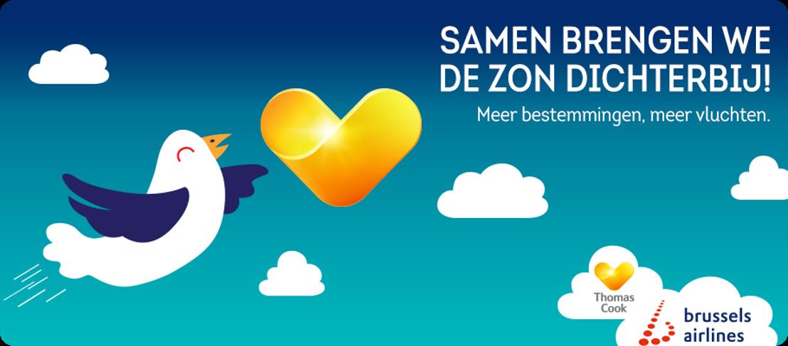 Partnership van Neckermann / Thomas Cook en Brussels Airlines geeft Belgische vakantiegangers vanaf 28 oktober meer keuze, flexibiliteit en zekerheid.