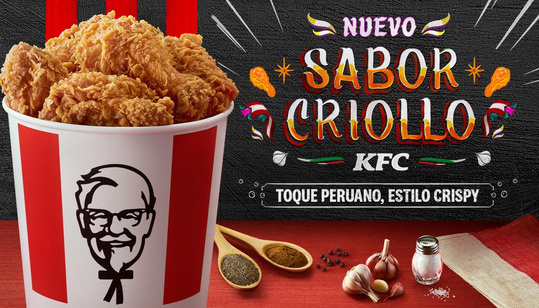 """KFC CELEBRA EL TALENTO DE LAS MANOS PERUANAS CON SU NUEVO """"SABOR CRIOLLO"""""""
