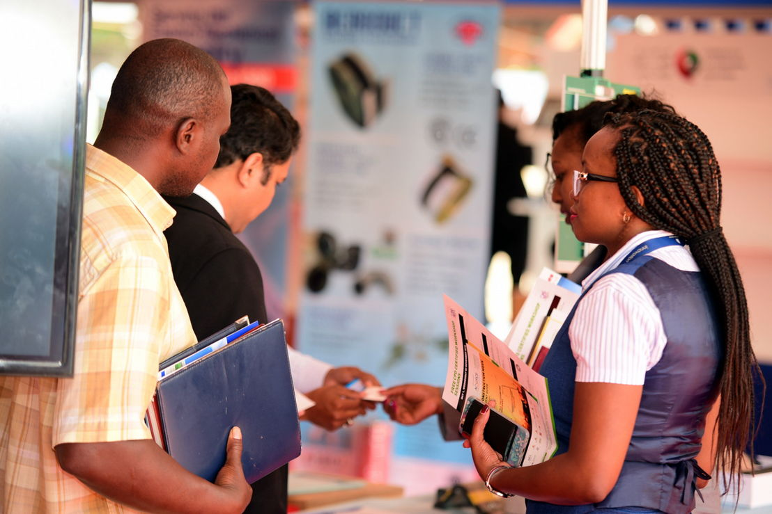 Exhibitors and buyers meet at The Big 5 Construct East Africa 2016