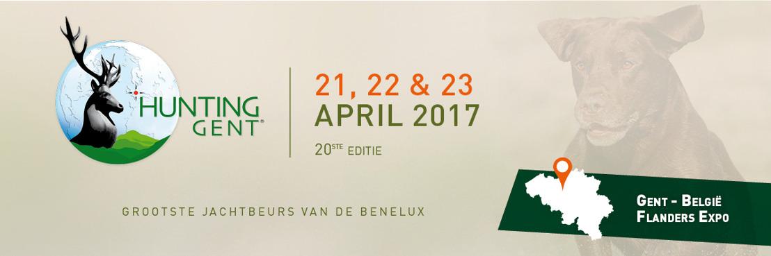 PERSBERICHT: 20ste editie van de beurs Hunting Gent komt eraan