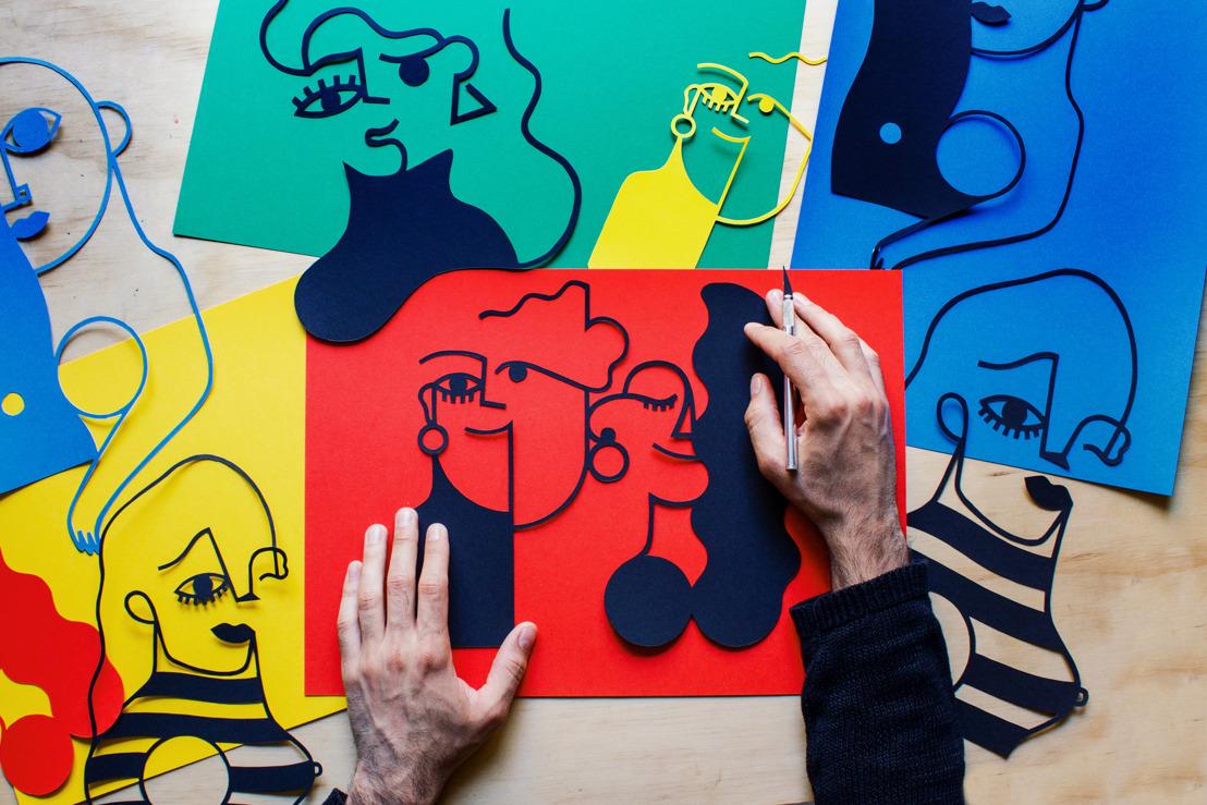 Internationale en Antwerpse artiesten presenteren unieke samenwerking tijdens expo D.A.T.E.lab