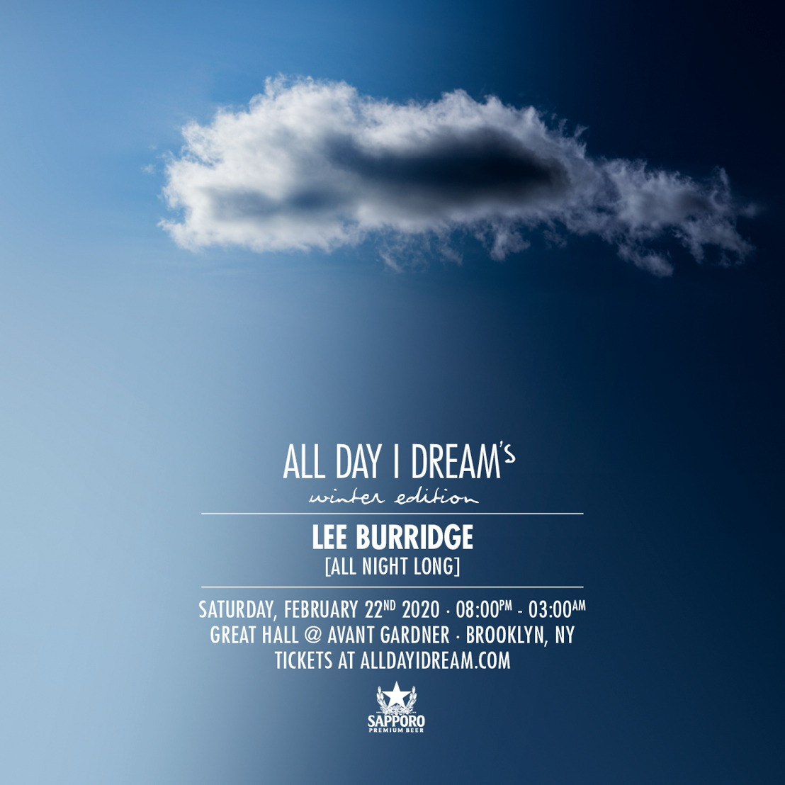 Lee Burridge Announces All Day I Dream Winter Edition