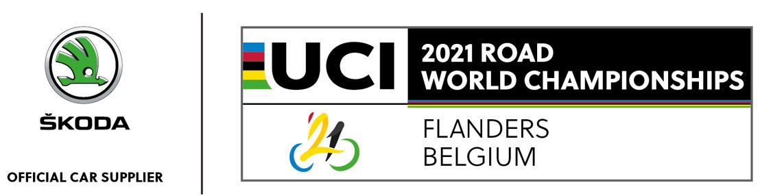 ŠKODA Import Belgium est le fournisseur officiel de voitures du Championnat du Monde de Cyclisme 2021