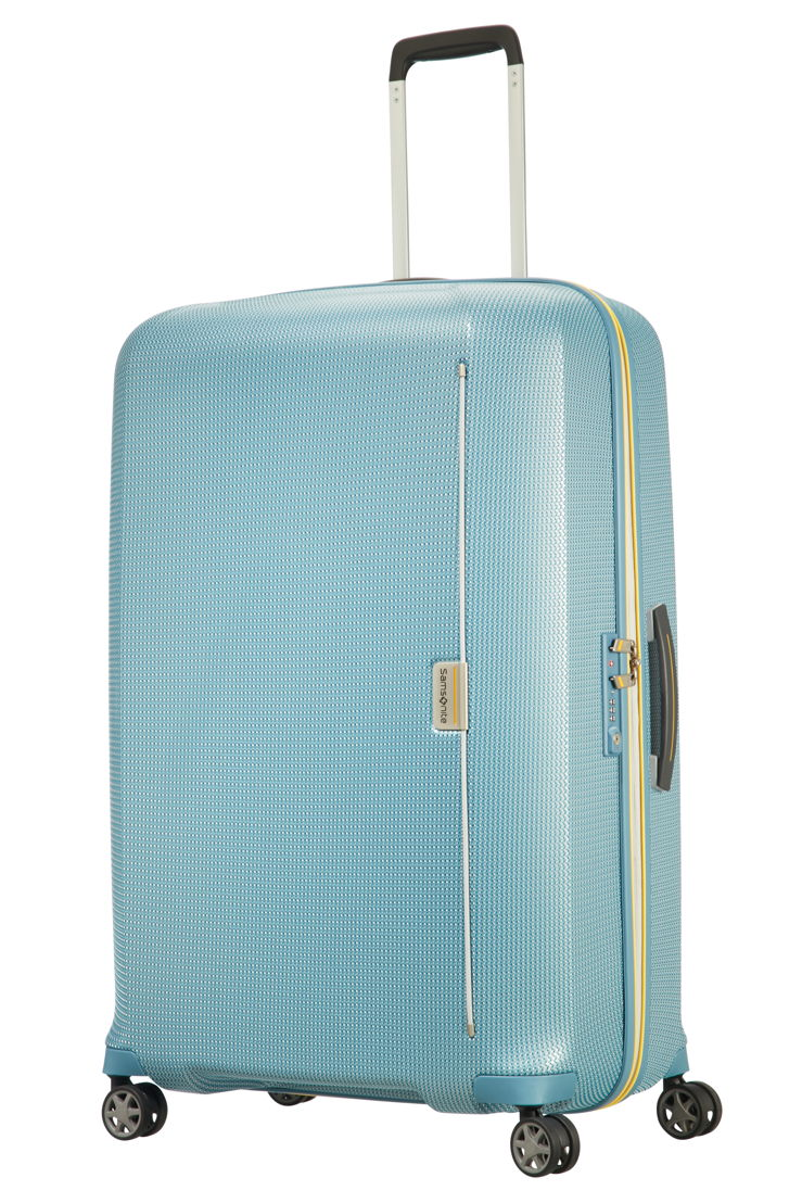 Samsonite_MIXMESH_Spinner 81_Niagara Blue/Yellow