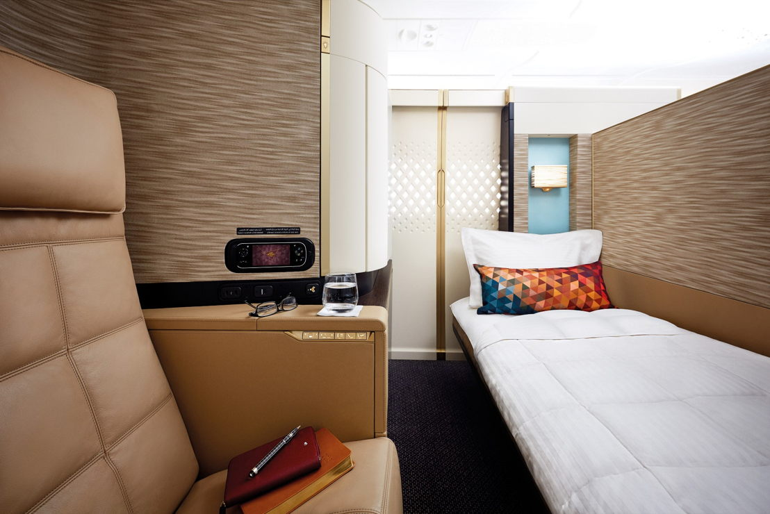 First Apartment in de A380.