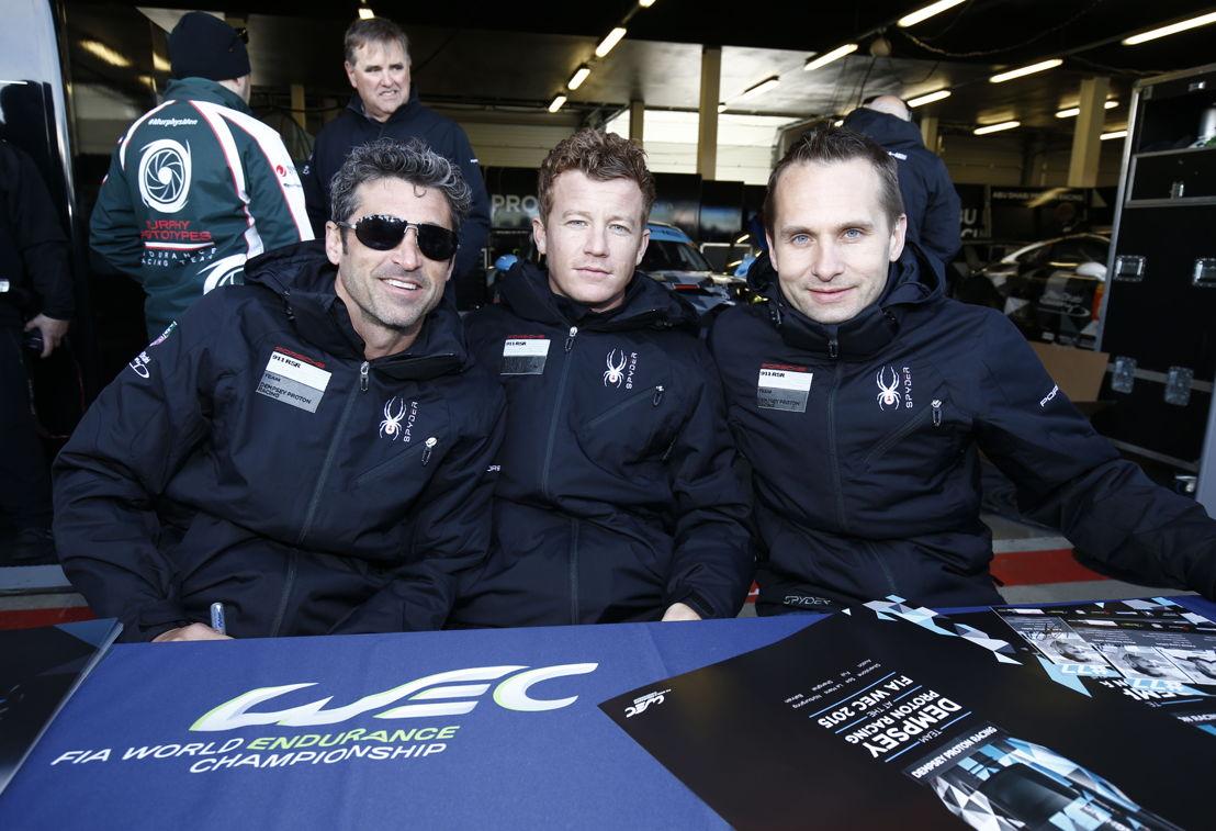 Patrick Dempsey, Patrick Long, Marco Seefried (l-r)
