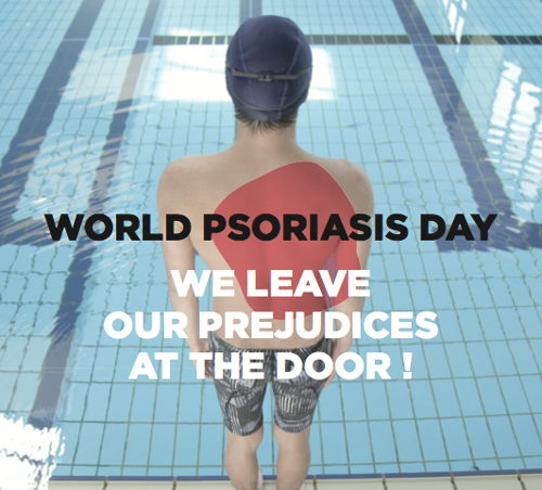 Preview: World Psoriasis Day 2014 - We leave our prejudices at the door!