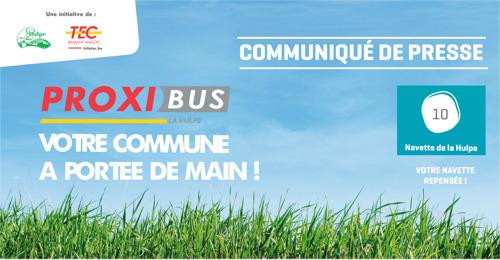 Avec la navette et son nouveau Proxibus, La Hulpe mieux desservie encore !