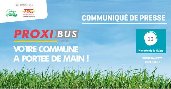 Preview: Avec la navette et son nouveau Proxibus, La Hulpe mieux desservie encore !