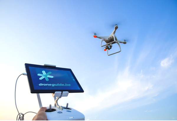 Preview: The new Droneguide version for professionals is a world first