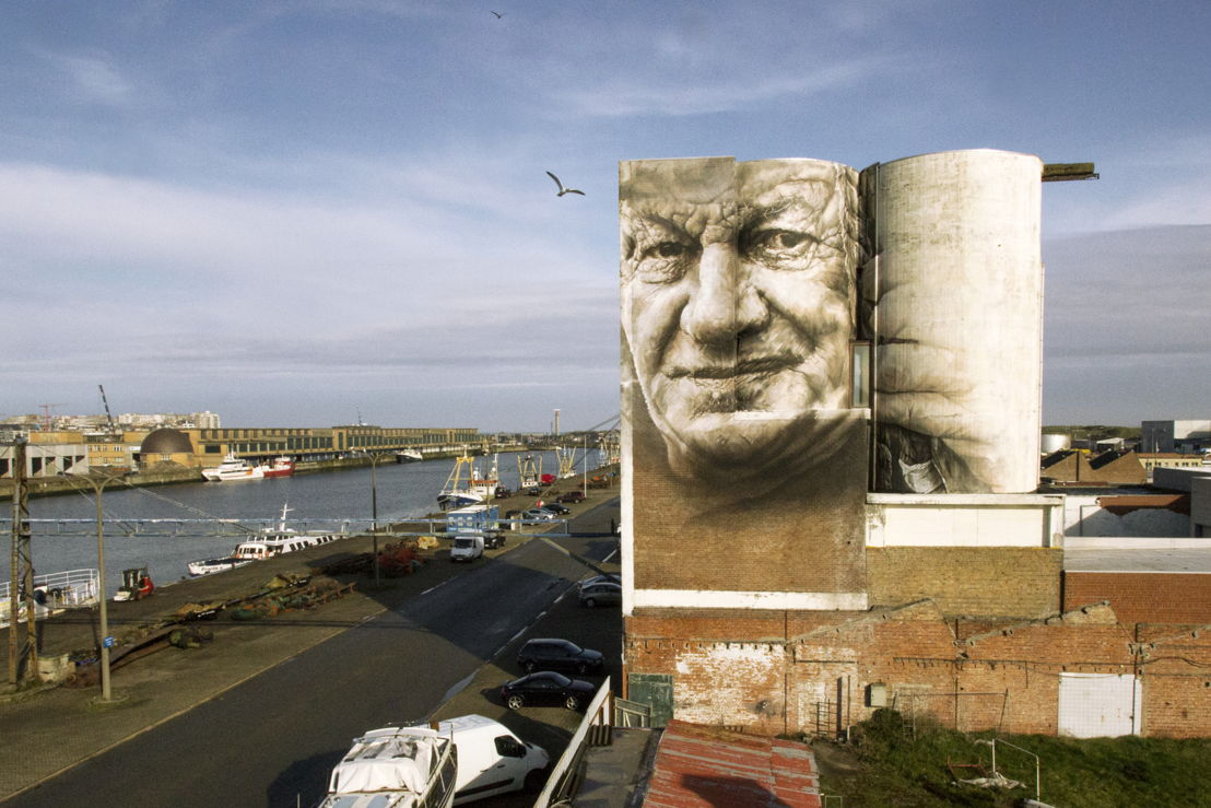 The Crystal Ship 2016 - Werk van Guido Van Helten