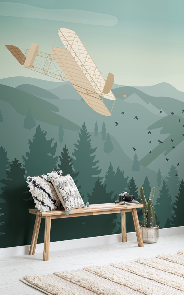 Preview: Wright Brothers wall mural celebrates 115 years since the first ever flight