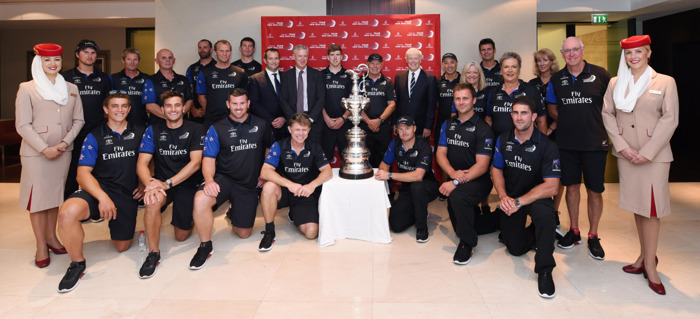 Emirates Team New Zealand bring the prestigious America's Cup to Dubai