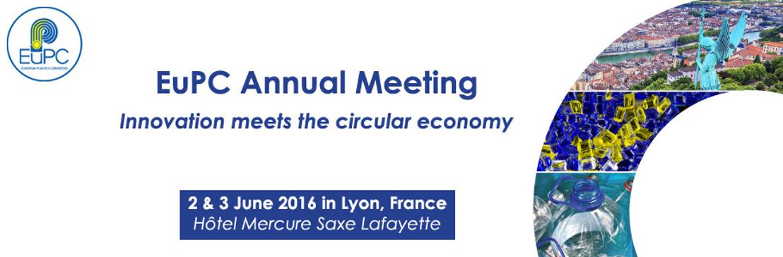 Invitation Presse : EuPC Annual Meeting 2016
