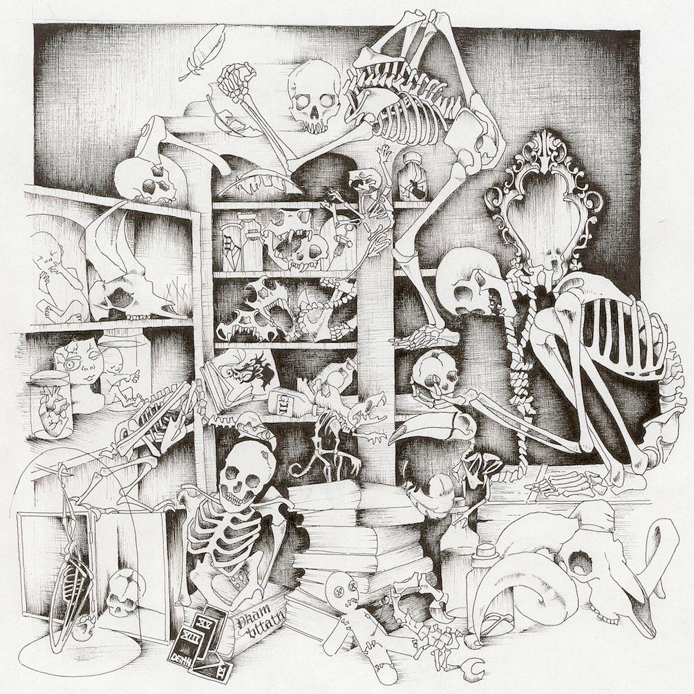 LOCKS - Skeletal Blues (album cover)
