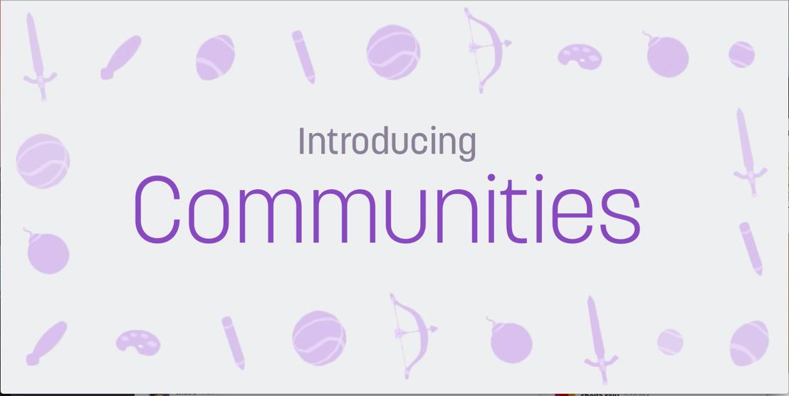 Twitch führt Communities ein