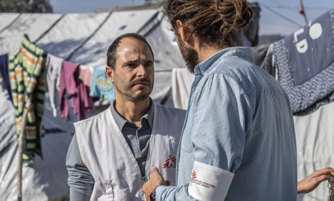 Lettre aux dirigeants européens : cessez vos agissements contre les demandeurs d'asile piégés en Grèce ! (+B-roll)