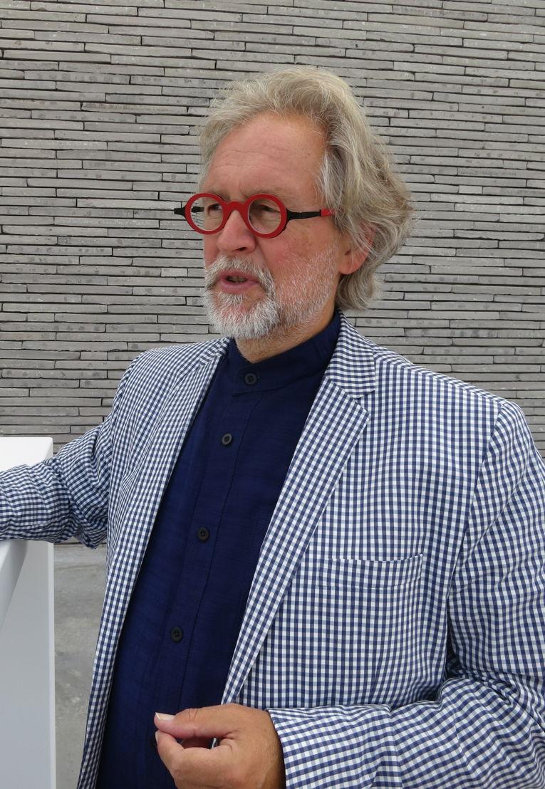 Voorzitter KoMASK Bart'd Eyckermans