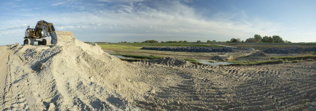 Internationale dijk verdwijnt, 120 hectare extra Zwin in de plaats