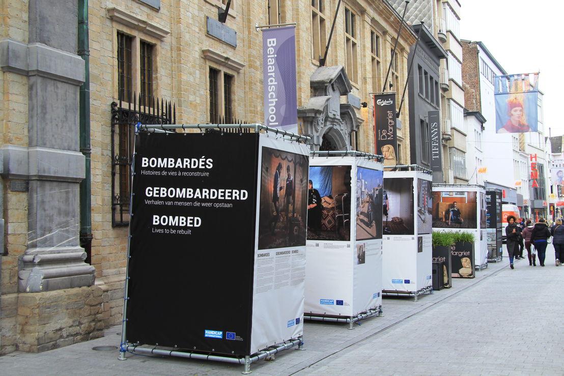 Fototentoonstelling op de Bruul in Mechelen