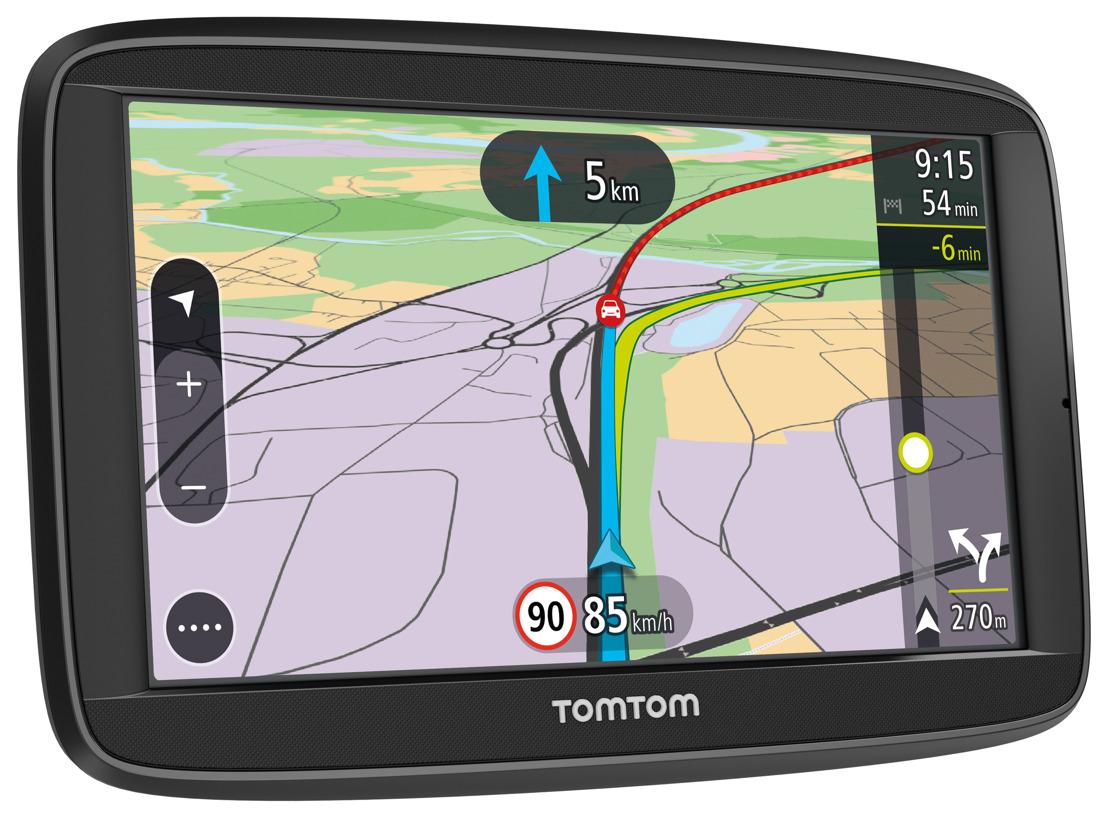 Nouveaux TomTom VIA : la fiabilité du guidage GPS TomTom alliée à la connectivité des smartphones