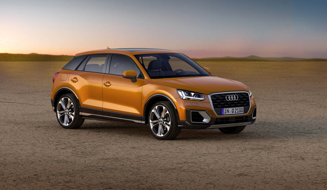 In primeur: de nieuwe Audi Q2