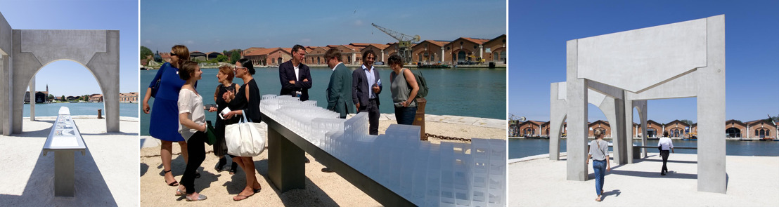 BESIX teams up with Brussels architects at the Architecture Exhibition in Venice