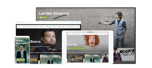 LiveComedy.be lanceert nieuw streamingplatform LiveComedyTV