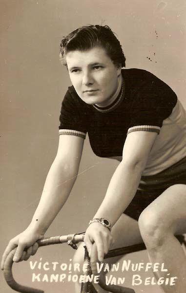 Victoire Van Nuffel als Belgisch kampioene