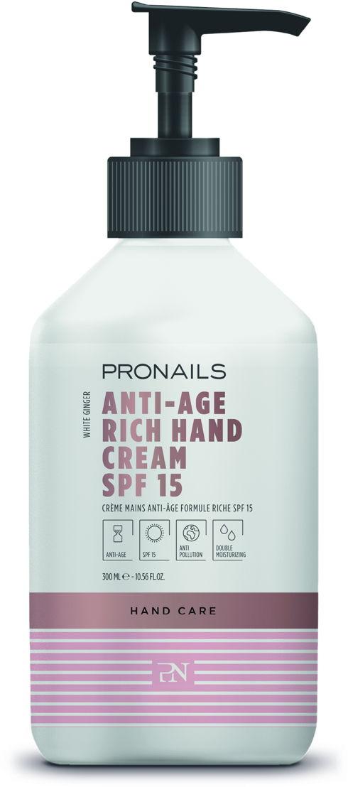 Anti-Age Hand Cream Rich SPF 15 300 ml
