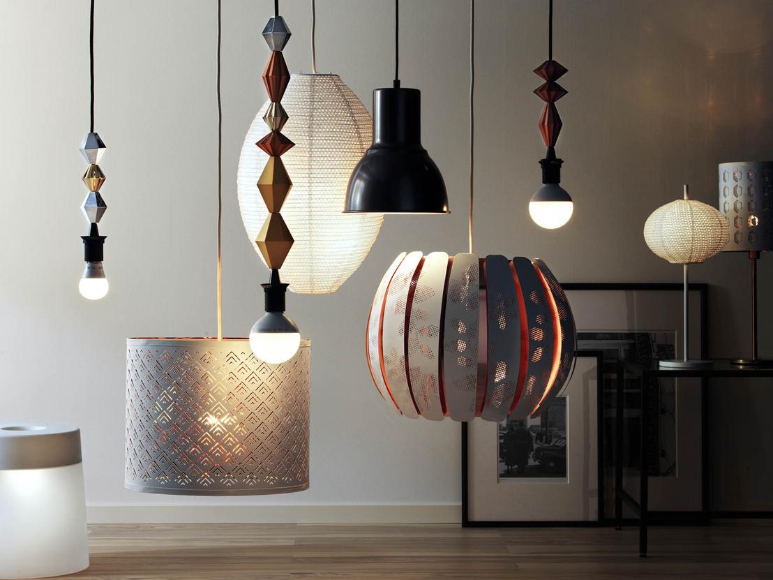 IKEA ne vend plus que des éclairages à base de LED
