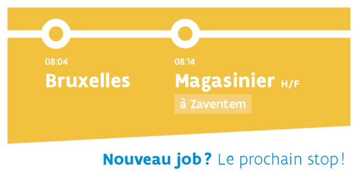 Preview: Bruxellois: en route vers un emploi en périphérie flamande