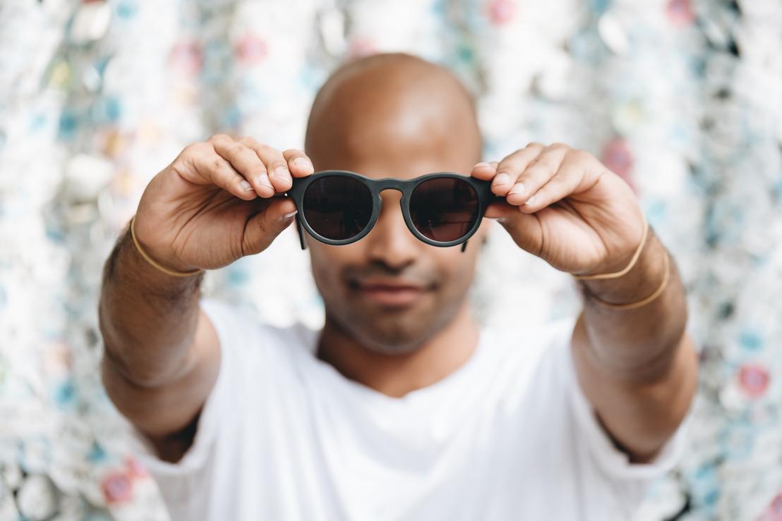 PERSBERICHT: 's Werelds eerste 3D-geprinte zonnebril van plastic afval