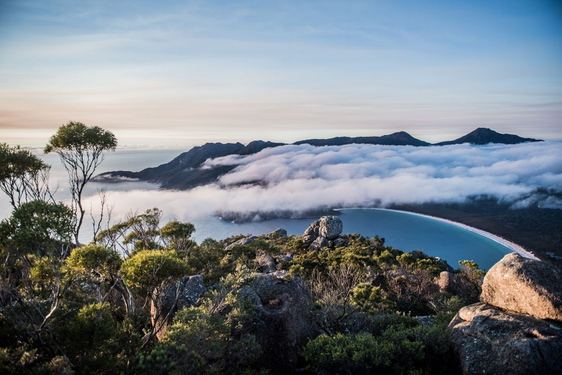 Tasmania is known for its great nature. On the picture Freycinet National Park