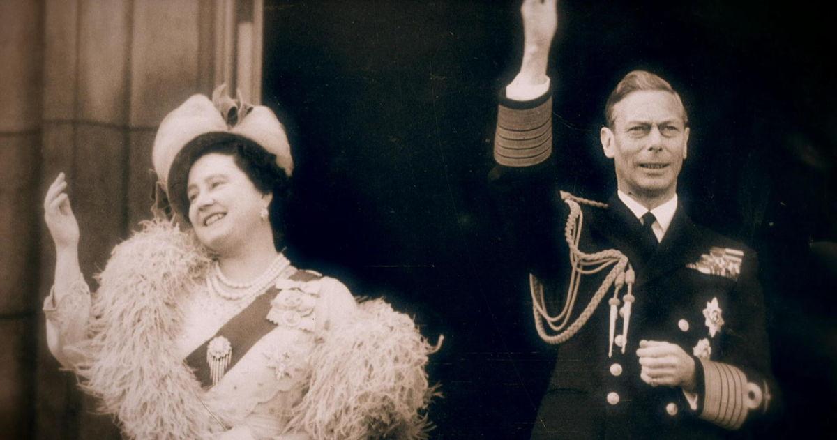 George VI en Elizabeth (c) CNN