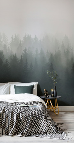 Forest Ombre: Naturally Formed Design