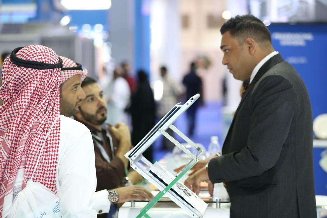 Crowd at HVACR EXPO Saudi 2017