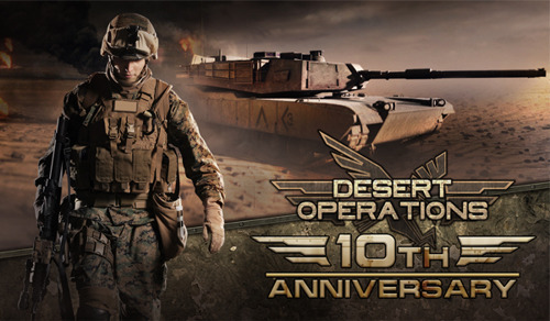 Desert Operations deploys its grand visual overhaul!